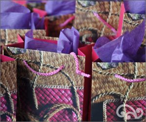 Gift bags with tissue