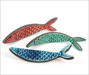 Ceramic fish ceramic sprats