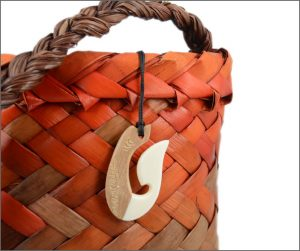 Matau fishhook pendants