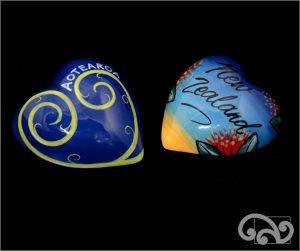 Ceramic heart: Aotearoa or NZ