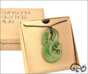 Authentic greenstone manaia pendants